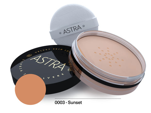 Astra - Velvet Skin Loose Powder 11g 03 - Sunset - 2kShopping.com