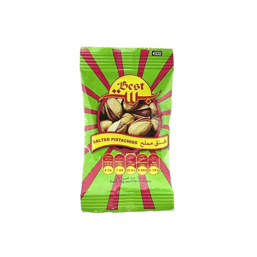 Best Salted Pistachios Pouch 30g - 2kShopping.com - Grocery | Health | Technology