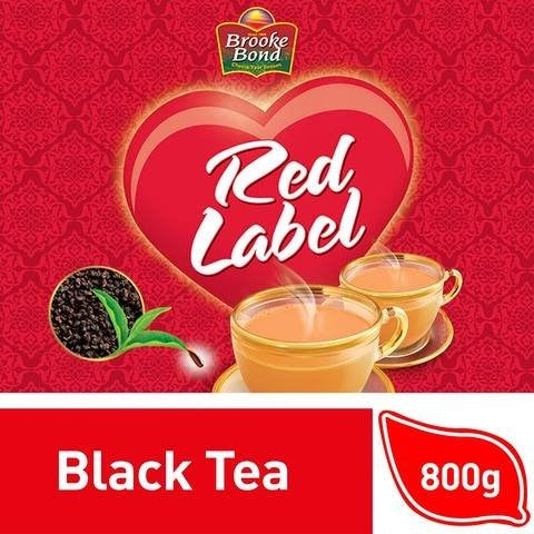 Brooke Bond Red Label Black Loose Tea 800g - 2kShopping.com