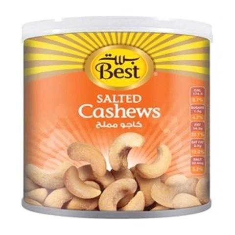 Best Salted Cashews Can 275g - 2kShopping.com - Grocery | Health | Technology