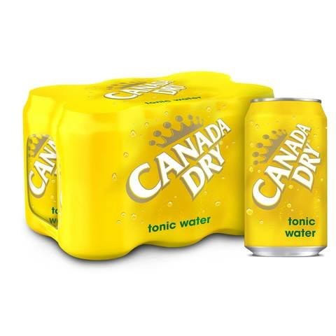 Canada Dry Tonic Water Can 355ml x Pack of 6 - 2kShopping.com