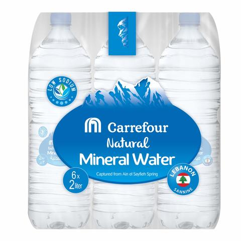 Carrefour Lebanon Mineral Water 2Lx6 - 2kShopping.com