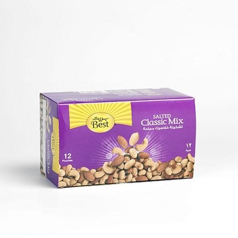 Best Classic Mix Nut Pouch 40 GM - 2kShopping.com - Grocery | Health | Technology