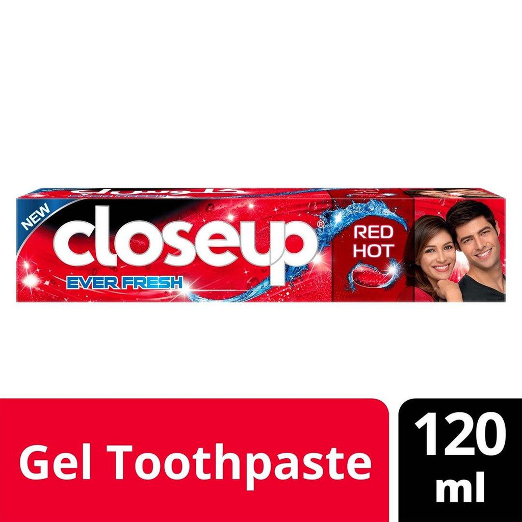 Closeup Anti-Bacterial Toothpaste Red Hot 120 ML - 2kShopping.com - Grocery | Health | Technology