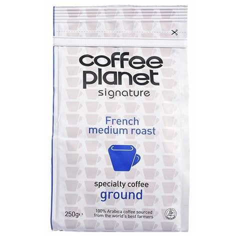 Coffee Planet French Medium Roast Coffee Powder 250g - 2kShopping.com