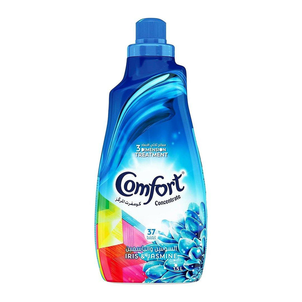 Comfort Fabric Softener Concentrate Iris & Jasmine 1.5L - 2kShopping.com - Grocery | Health | Technology