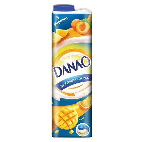 Danao Juice Drink with Milk 5 Vitamins 1L - 2kShopping.com