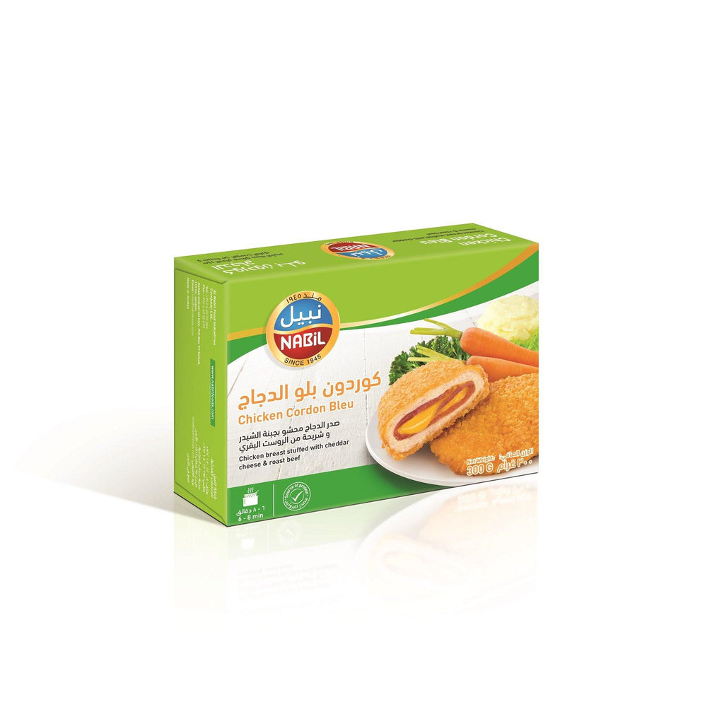 Nabil Chicken Breast Cordon Bleu 300 GM - 2kShopping.com - Grocery | Health | Technology