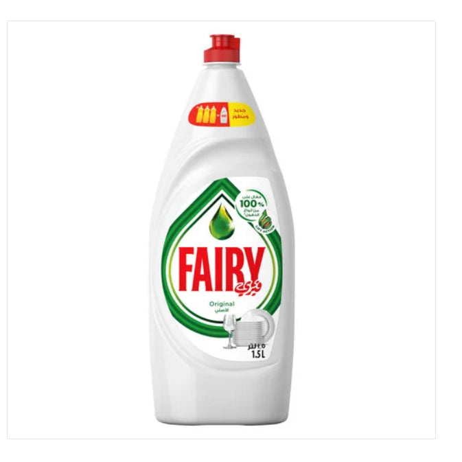 Fairy Original Hand Dishwashing Liquid 1.5L - 2kShopping.com
