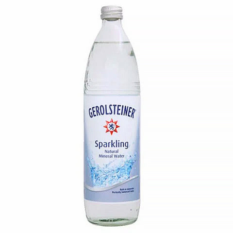 Gerolsteiner Sparkling Mineral Water Glass Bottles 750ml - 2kShopping.com