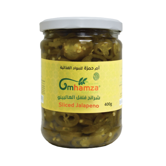 Um Hamza Sliced Jalapeno 400g - 2kShopping.com - Grocery | Health | Technology