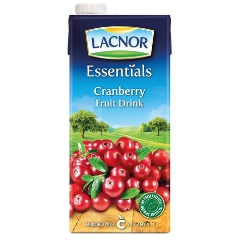Lacnor Essentials Cranberry Fruit Drink 1L - 2kShopping.com