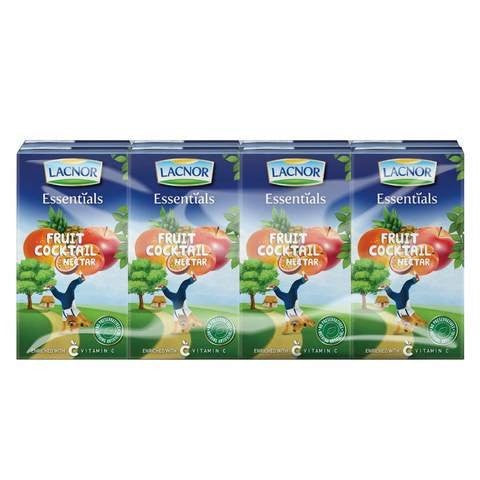 Lacnor Essentials Junior Cocktail 125ml x Pack of 8 - 2kShopping.com