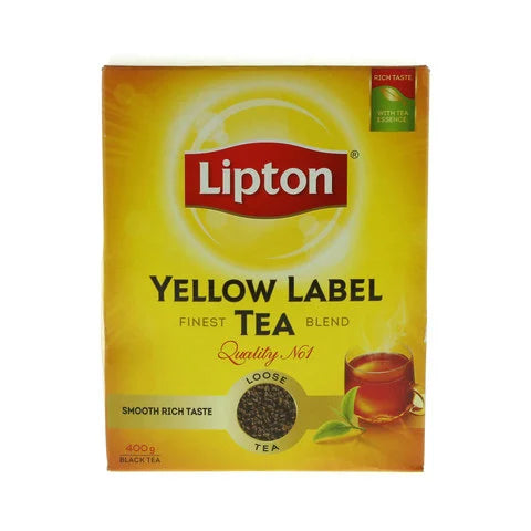 Lipton Yellow Label Loose Tea 400g - 2kShopping.com