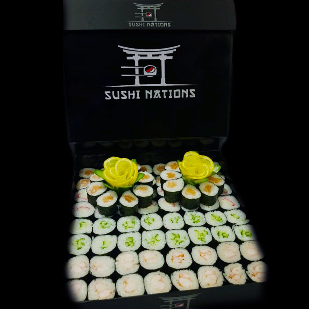 Mega Maki VIP Box by Sushi Nations - Freshly Prepared, Fast Delivery