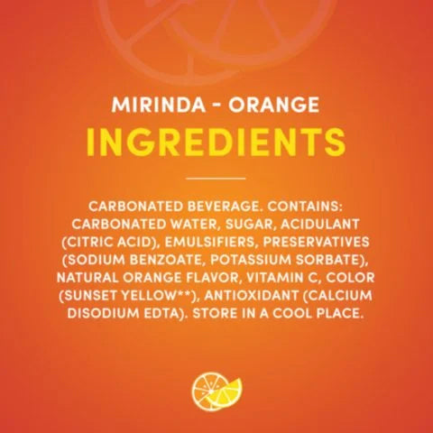 Mirinda Orange Carbonated Soft Drink 355ml Can - 2kShopping.com