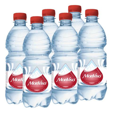 Monviso Natural Mineral Water Sparkling 500ml x Pack of 6 - 2kShopping.com
