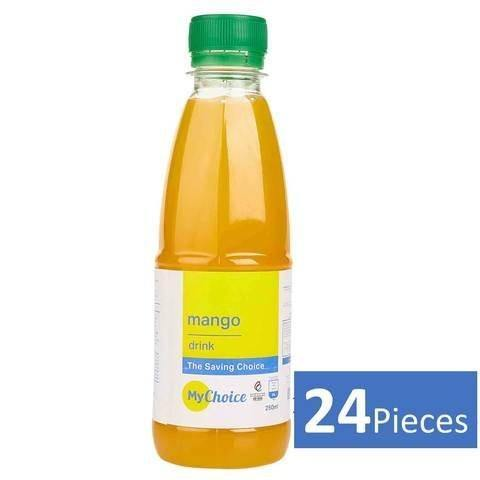 Mychoice Mango Drink, Pack of 24 x 250 ML - 2kShopping.com - Grocery | Health | Technology