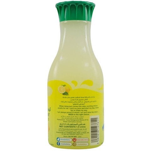 Nada Lemon Juice with Mint and Pulp 1.5L - 2kShopping.com