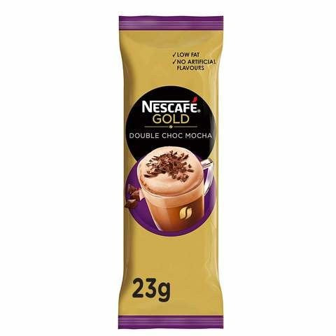 Nescafe Gold Double Chocolate Mocha Coffee Mix 23g Sachet - 2kShopping.com