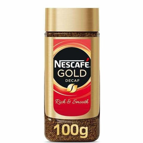 Nescafe Gold Instant Decaffeinated Coffee 100g - 2kShopping.com