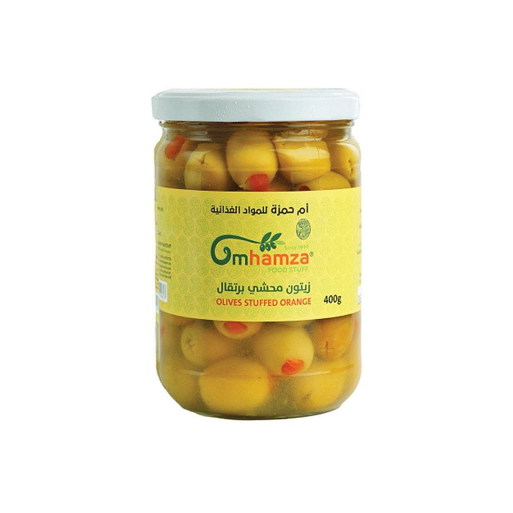 Um Hamza Olives with Orange 400g - 2kShopping.com - Grocery | Health | Technology