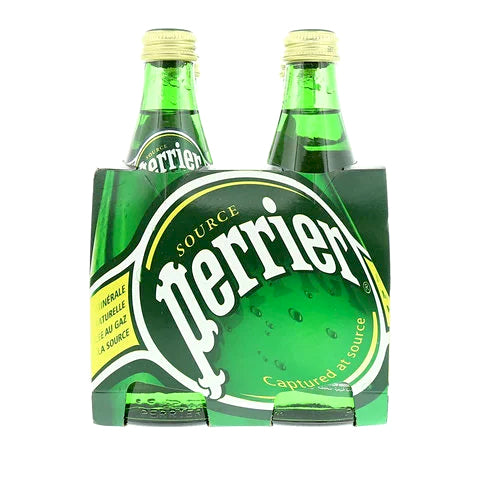 Perrier Natural Sparkling Mineral Water 330ml x Pack of 4 - 2kShopping.com
