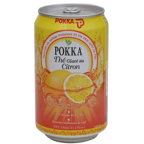 Pokka Ice Lemon Tea Drink 330ml - 2kShopping.com