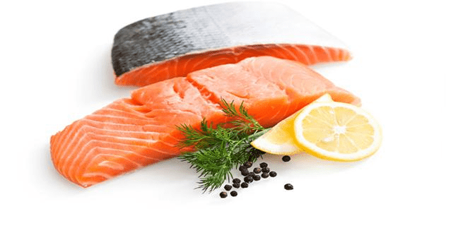 organic salmon fresh fish ( 1kg ) | سمك السلمون الطازج - 2kShopping.com - Grocery | Health | Technology