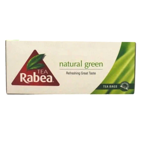 Rabea Natural Green Tea Bags Pack of 25 - 2kShopping.com