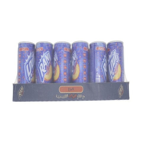 Rani Float Peach Fruit Drink with Real Fruit 180ml x Pack of 24 - 2kShopping.com