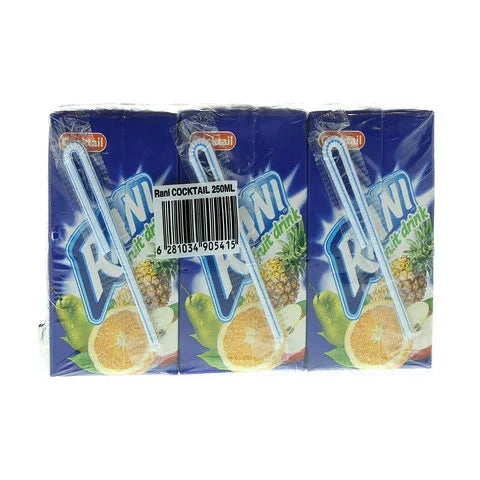 Rani Cocktail Fruit Drinks 250ml x Pack of 9 - 2kShopping.com