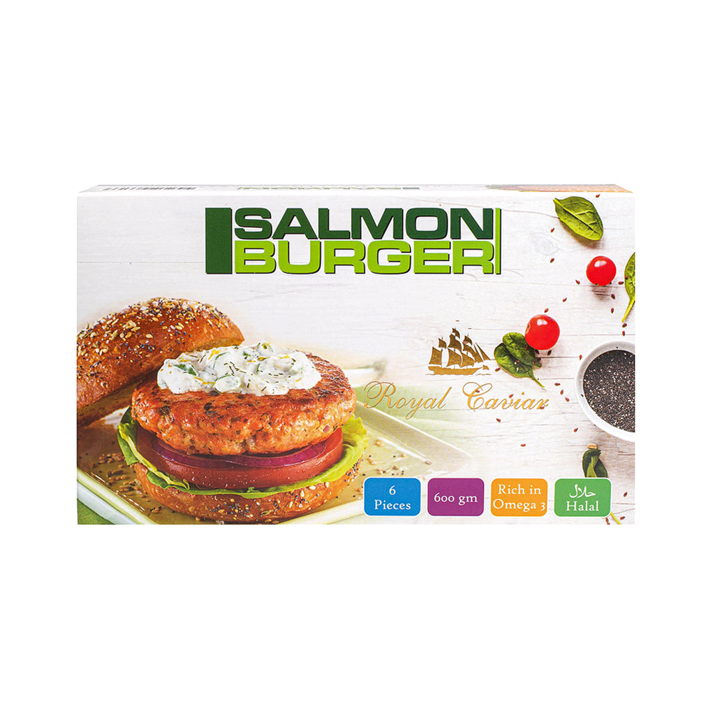 Royal Salmon Burger 6 Pieces 600g - 2kShopping.com