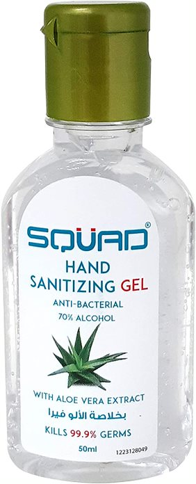 SQUAD Hand Sanitizing Gel With ALOE VERA Extract 70% Alcohol - 2kShopping.com