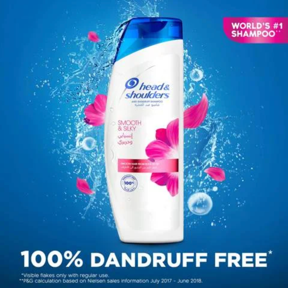 Head & Shoulders Smooth and Silky Shampoo 400ml... - 2kShopping.com - Grocery | Health | Technology