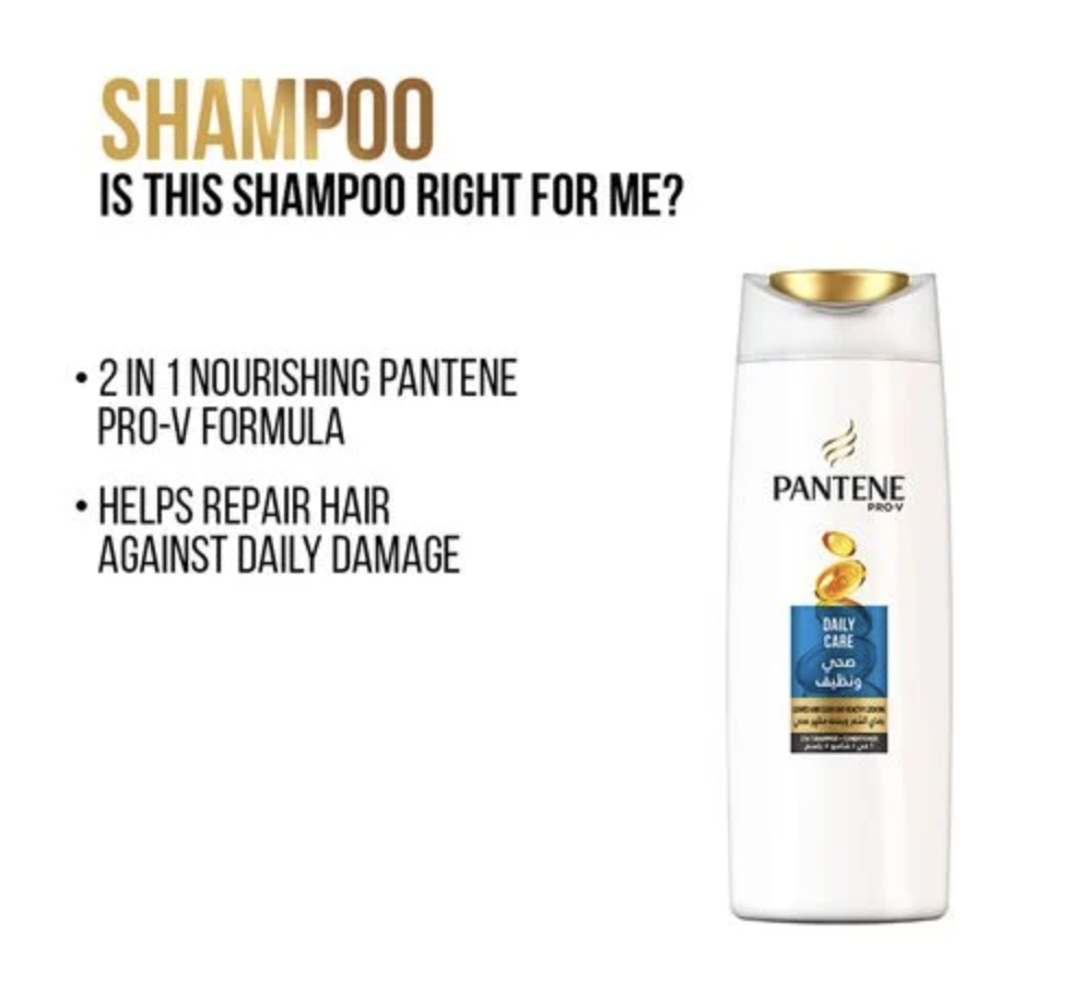 Pantene Pro-V Daily Care Shampoo 400ml - 2kShopping.com - Grocery | Health | Technology