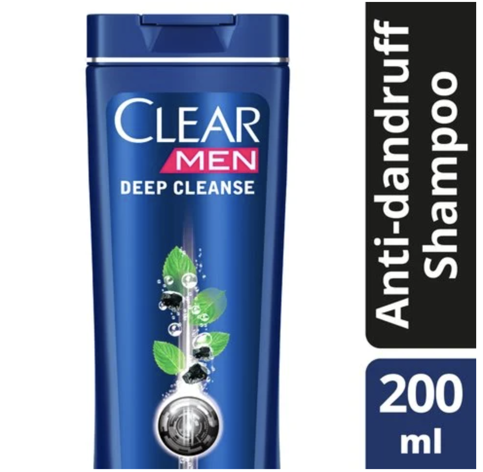 Clear Men's Deep Cleanse Anti-Dandruff Shampoo 4... - 2kShopping.com - Grocery | Health | Technology