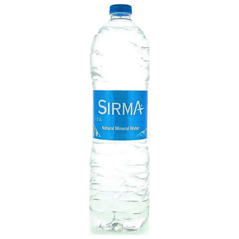Sirma Natural Mineral Water 1.5L - 2kShopping.com