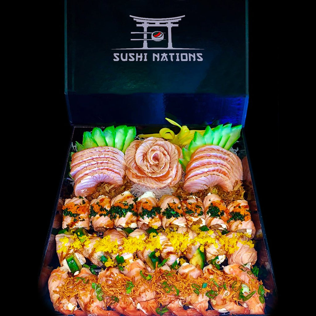 Torched Madness VIP Box by Sushi Nations - Freshly Prepared, Fast Delivery