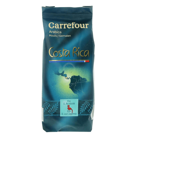 Carrefour Costa Rica Pure Arabica Ground Coffee 250g - 2kShopping.com - Grocery | Health | Technology