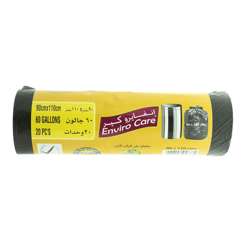 Enviro Care Garbage Bag Rolls 2 pc. 90 x 110cm - 2kShopping.com - Grocery | Health | Technology