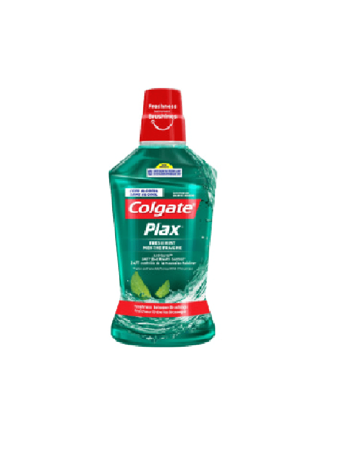 Colgate Plax Fresh Mint Anti Germ Mouthwash Blue 500 ML - 2kShopping.com - Grocery | Health | Technology