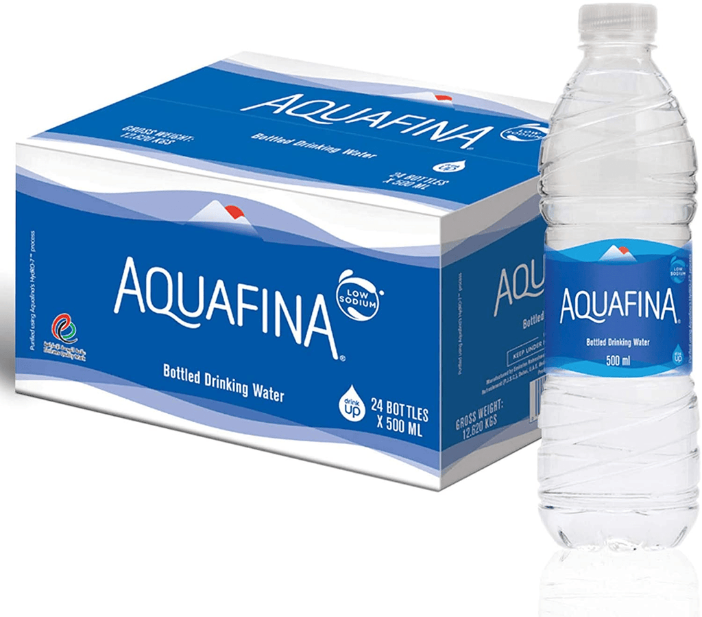 Aquafina Bottled Drinking Water, 24 x 500 ml - 2kShopping.com - Grocery | Health | Technology