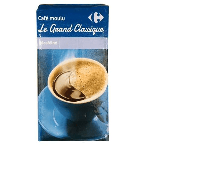 Carrefour Decaffeinated Ground Coffee 250g - 2kShopping.com - Grocery | Health | Technology