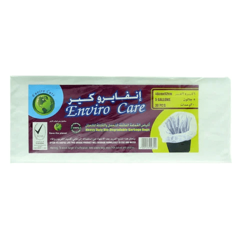Enviro Care Garbage Bags White 46 x 52cm - 2kShopping.com - Grocery | Health | Technology