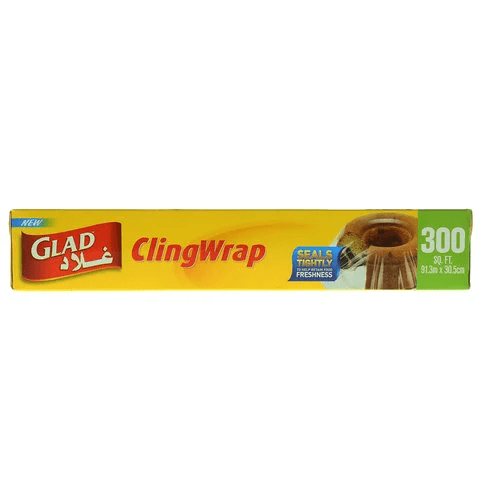 Glad Cling Wrap 300 Sq. Ft - 2kShopping.com - Grocery | Health | Technology