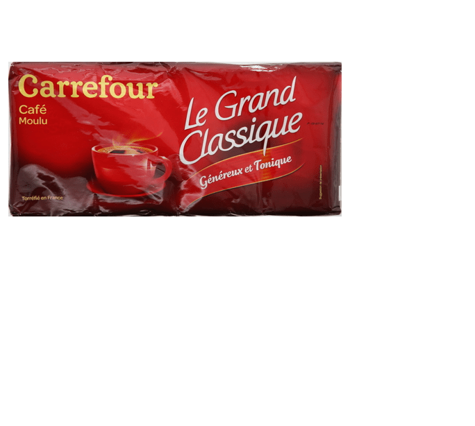 Carrefour Classic Ground Coffee 250g x Pack of 4 - 2kShopping.com - Grocery | Health | Technology