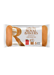 Royal Bakers White Bread Roll, 6 Pieces, 260 g - 2kShopping.com - Grocery | Health | Technology