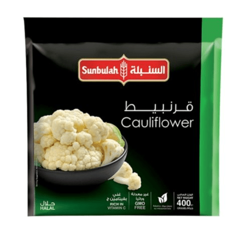 Sunbulah Frozen Cauliflower 400g - 2kShopping - Grocery | Health | Technology