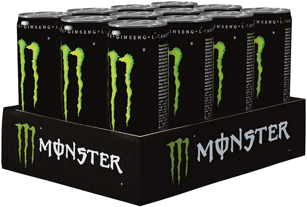 Monster Green Energy Drink, 12 x 250 ml Can - 2kShopping.com - Grocery | Health | Technology